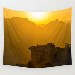Grand Canyon sunrise Wall Tapestry