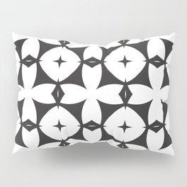 Mod | Black + White:  Pattern No. 29 Pillow Sham