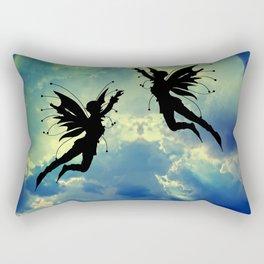 Moon Fairies Rectangular Pillow