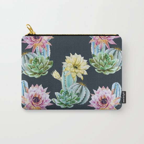 Cactus Pattern 07 Carry-All Pouch