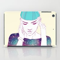 grimes iPad Cases featuring GRIMES by Nuk_