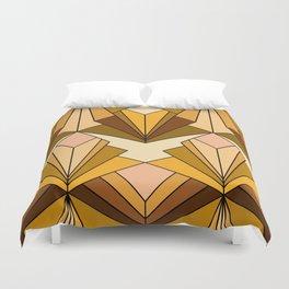 Art Deco meets the 70s - Large Scale Duvet Cover