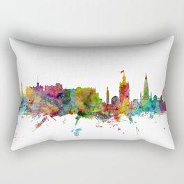Edinburgh Scotland Skyline Cityscape Rectangular Pillow