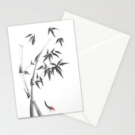 Leaves or Fishes? Stationery Cards