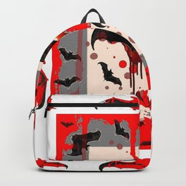 FREAKING HALLOWEEN BLOODY BAT PARTY Backpack