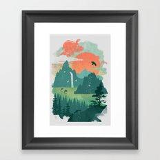 Lost Cove Framed Art Print