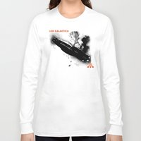 led zeppelin Long Sleeve T-shirts featuring LED GALACTICA by ClevaGurl