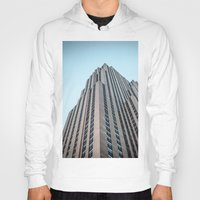 30 rock Hoodies featuring The Rock by MikeMartelli