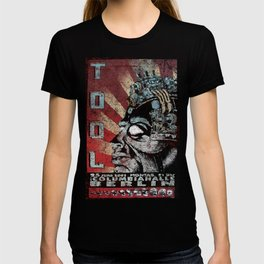 Tool Band Distressed Poster T-shirt