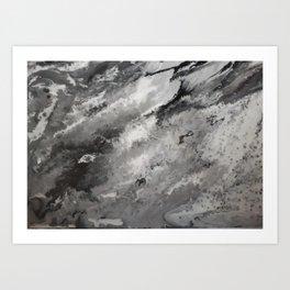 Emotional Storm Art Print