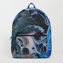 Woman on Earth Backpack