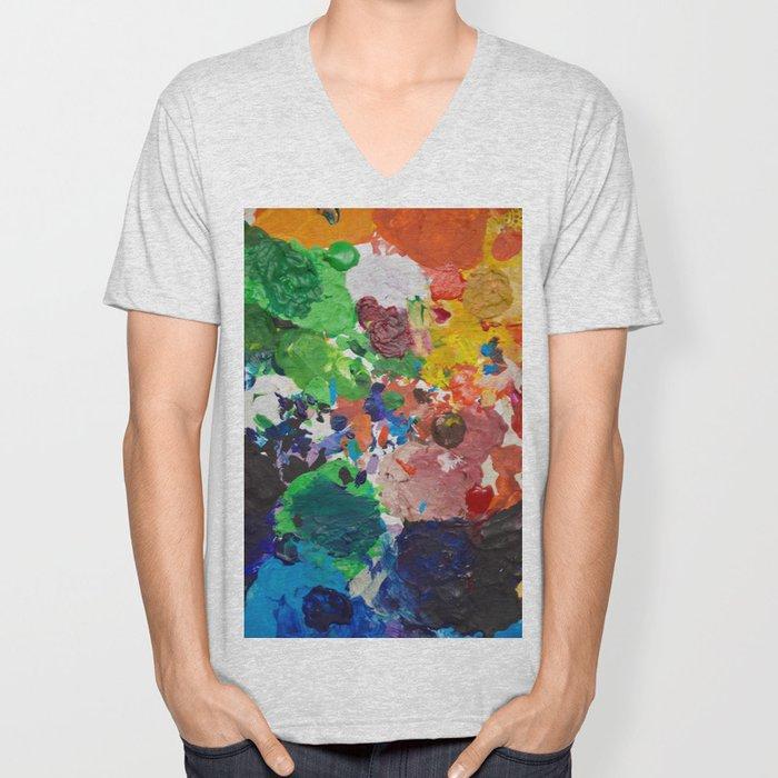 Palette of Colors Unisex V-Neck
