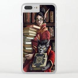 Academic Pursuits Clear iPhone Case