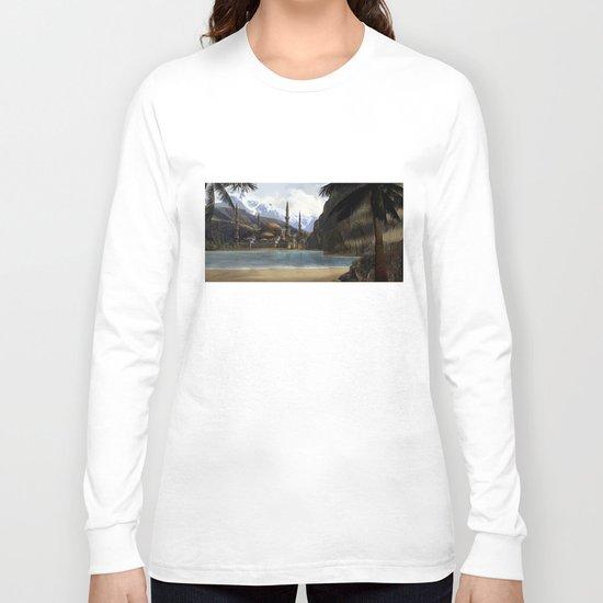 Hidden in the Mountains Long Sleeve T-shirt