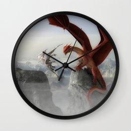 Dragon Fight Wall Clock