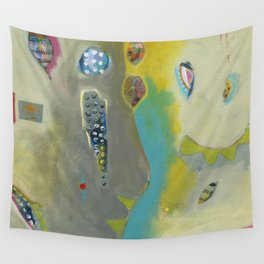 Bee Festive Wall Tapestry