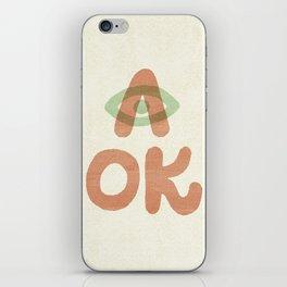 A OK iPhone Skin