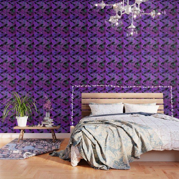 DragonFly Purple Wallpaper