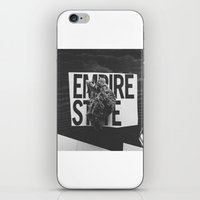 medical iPhone & iPod Skins featuring empire medical by fat dominic