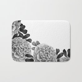 Flowers in the morning Bath Mat
