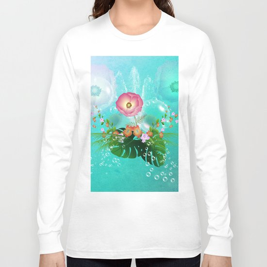 Floral design Long Sleeve T-shirt