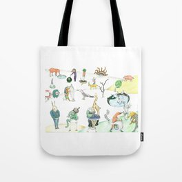 Inspired by Bosch Tote Bag
