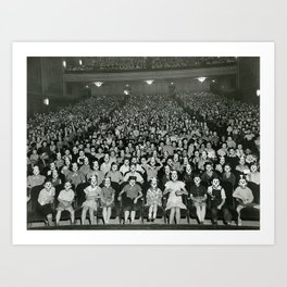 Vintage Photo - Mickey Mouse Club Art Print