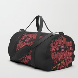 Estoy Harto-a / I'm fed up Duffle Bag