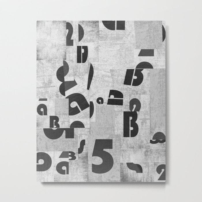 Abstract pattern 51 Metal Print
