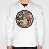toronto Hoodies featuring Toronto Mordecais by Placeholder Tees