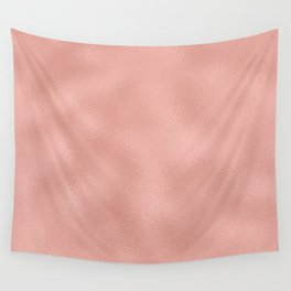 Rose gold - Touch of Rose Wall Tapestry