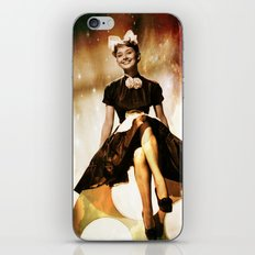 Audrey Hepbur vintage photo iPhone & iPod Skin