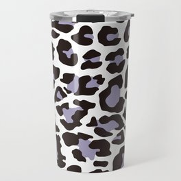 Snow Leopard Pattern_C Travel Mug