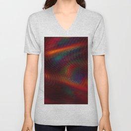 Cosmic Spiral Vortex Unisex V-Neck