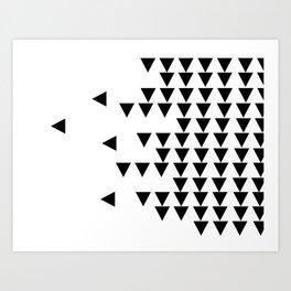 Arrow Tetris Art Print