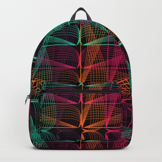 Neon threads Backpack