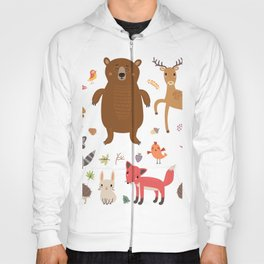Forest Animals Hoody