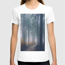 Into the woods #fog T-shirt
