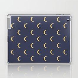 Crescent Moon Sky Pattern Laptop & iPad Skin