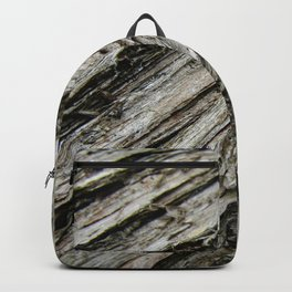 Bark on a Downed Tree Backpack
