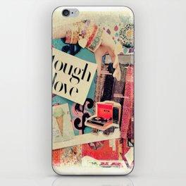 Tough Love iPhone Skin