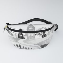 London - British Design - English Modern Art Fanny Pack