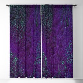 Luminoles - Abstract Pixel Art Blackout Curtain