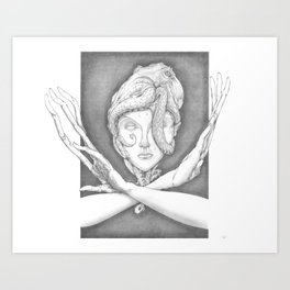 Accretion Art Print