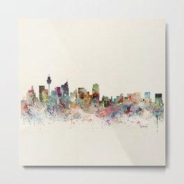 sydney skyline Metal Print