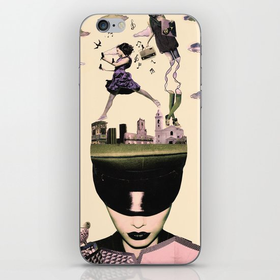 Head in the clouds iPhone & iPod Skin