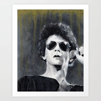lou reed Art Prints featuring Lou Reed by Vikki Sin
