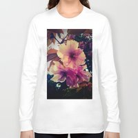 blossom Long Sleeve T-shirts featuring Blossom by Monica Georg-Buller