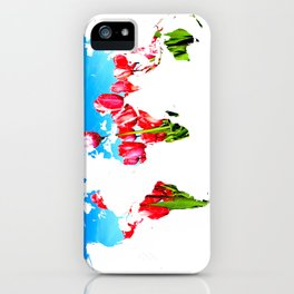 World of Tulips iPhone Case