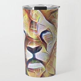 SOLEMN LION Travel Mug